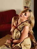 RE1331: Penny Lee Sari'd up and rope bound