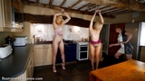 VID0520A: Mistress Zoe's new slave girls part one