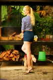 SS0465S: Ariel Anderssen Barefoot at the barbecue