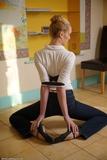 CUS00030: Ariel Anderssen Ballet Slippers Belt Bound