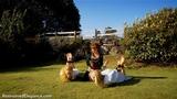 VID0512: Ariel, Lucy, Zoe in Medieval Rubbish Gardeners