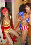 SOLAR GIRL & SILVER STARA - SUPERHEROINE BONDAGE & CHLORO (FULL LENGTH VIDEO)