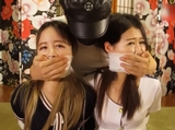 ASIAN CUTIES GAGGED
