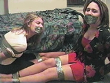SASIA & KRISTY - KO, HYPNOTIZED & GAGGED DAMSELS