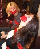 TASHA & TAMMY GIRL DETECTIVES BONDAGE CHLORO DAMSELS