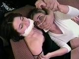 KELLY & NATASHA CHLORO GAG CAPTIVES + BIKINI KO DAMSEL