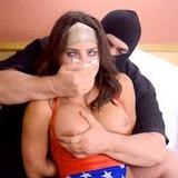 1080p HD - CHICHI WW SUPERHEROINE SLEEPY CLOTH CAPTIVE