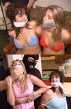 LINDA & KATIE - SPY GIRLS IN BIG TROUBLE! (2 Scenes)