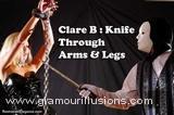 Clare Knife Arms & Legs Photos