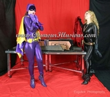 Batgirl & Catwoman Sawing in half Photos
