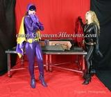 Batgirl & Catwoman Sawing in half Photos