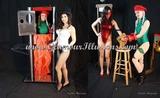 Alisa Kiss & Lucy Purr Zig Zag & Chopper illusions Photos
