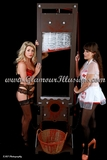 Ella & Tillie Guillotine Photos
