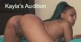 Kayla's Audition
