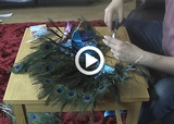 The Making of the Peacock Costume
