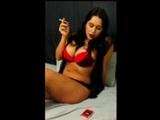 Megan Jones Smoking (Color Version) - Complete Video - MP4 - Hi Resolution