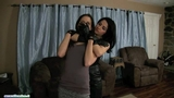 Chloro hom in leather gloves part 7
