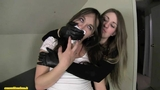 Chloro hom in leather gloves part 3