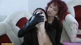 Chloro hom in leather gloves part 2