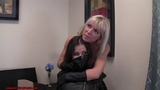 Chloro hom in leather gloves part 9