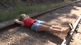 Railroad adventures staring Becca the Damsel & Black Scorpian