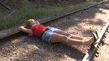 Railroad adventures staring Becca the Damsel & Black Scorpian